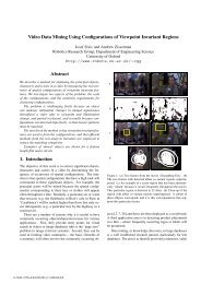 Video Data Mining Using Configurations of Viewpoint Invariant ...