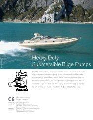 Heavy Duty Submersible Bilge Pumps - Unistream.com.sg
