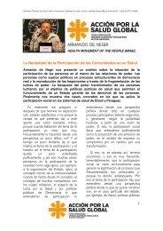 ARMANDO DE NEGRI - Action for Global Health