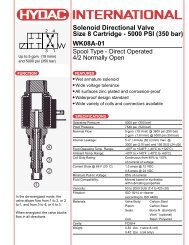H Series - Airline Hydraulics