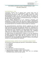 Gesellschaftliche Transparenz und Mitbestimmung - Christian Rüther