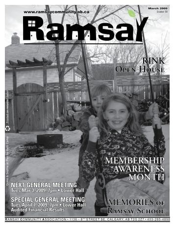 March 2009 - Ramsay Community Association