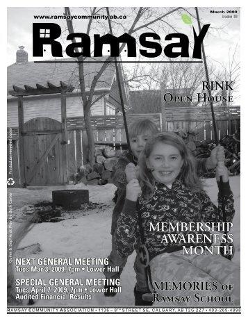 March 2009 - Ramsay Community Association