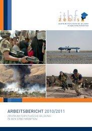 ARBEITSBERICHT 2010/2011 - Zentrum für ethische Bildung in den ...
