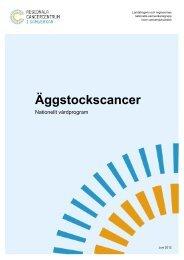 Vårdprogram för ovarialcancer Juni 2012 - SFOG