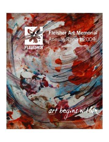 Fleisher Art Memorial Annual Report 2009