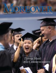Alumni News - Thomas More College