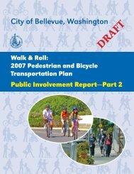 Public Involvement Report No. 2 - City of Bellevue