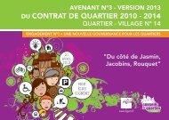 Quartier-village 14 - Ville d'Agen