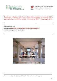 Dati del questionario sull'uso delle Risorse ... - Biblioteca Medica