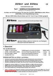 AV4ms und AV4m+ Bedienung 26-01-2014 ab FW x ... - Accu-Select