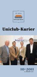 10-2011 - Universitätsclub Bonn
