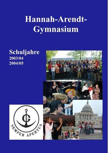 Stadtsparkasse Lengerich - Hannah-Arendt-Gymnasium
