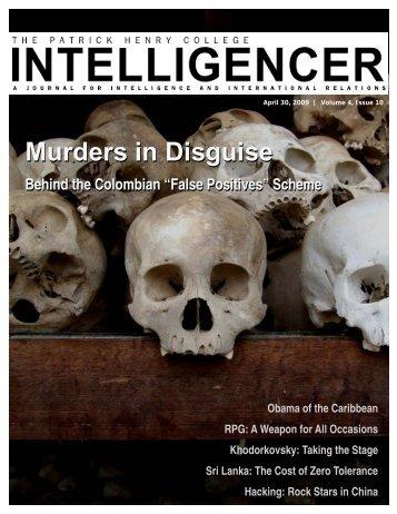 Murders in Disguise Murders in Disguise - Patrick Henry College