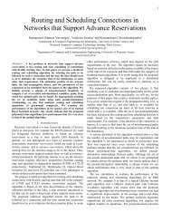 Routing and Scheduling Sessions in Networks that ... - Phosphorus