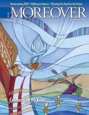MOREOVER [Fall 2011] - Thomas More College