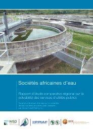 Sociétés africaines d'eau - WSP