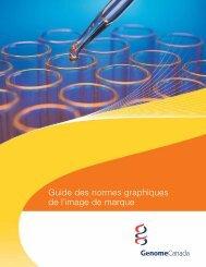 Guide des normes graphiques de l'image de ... - Genome Canada