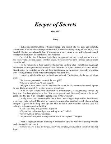 Keeper of Secrets - Roeder, Mark