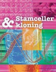 Debatthefte om stamceller og kloning - Bioteknologinemnda