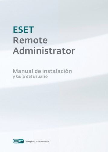 Guía de ESET Remote Administrator