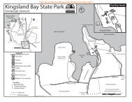 Kingsland Bay State Park Map & Guide (pdf) - Vermont State Parks