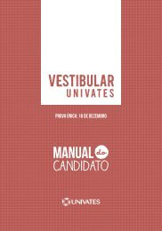 edital do processo seletivo vestibular 2013/a - Univates