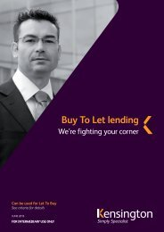 Buy to Let product guide - Legal & General