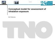 Conceptual Model for Assessment of Inhalation Exposure - BOHS