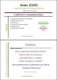 Tema 3. Transmisión de datos