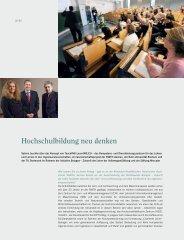Hochschulbildung neu denken - Stiftung Mercator
