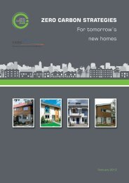 ZERO CARBON STRATEGIES For tomorrow's new homes - BD