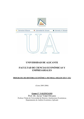 universidad de alicante facultad de ciencias económicas y ...