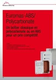 Euromas-ABS/ Polycarbonate - Bopla