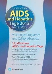 AIDS und Hepatitis Tage 2012 - Ihr kompetenter Veranstalter für ...