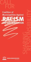 Coalition of Municipalities Against Racism and Discrimination