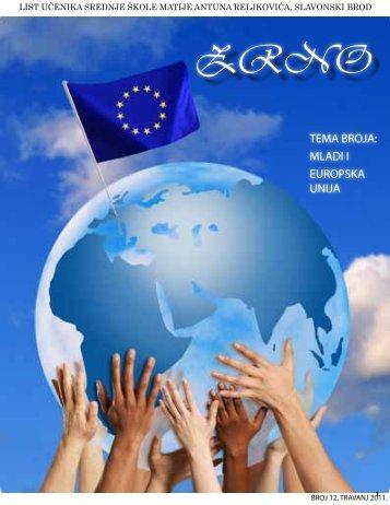 mladi i europska unija - Srednja škola Matije Antuna Reljkovića ...