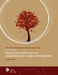 CMEC Technical Workshop on Pan-Canadian Aboriginal Data