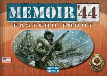 Eastfront rules EN - Days of Wonder