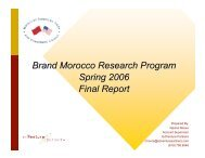 Research Report - Morocco On The Move