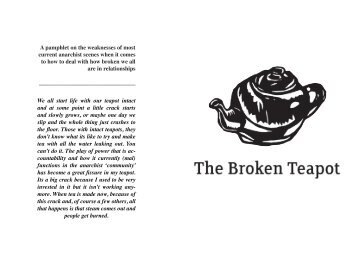 The Broken Teapot - Zine Library