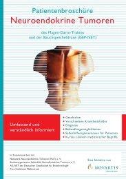 Patientenbroschüre - Netzwerk Neuroendokrine Tumoren (NeT)
