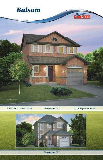 Balsam - Pratt New Homes Innisfil