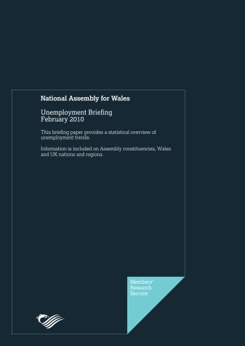 Unemployment Briefing: February 2010 - National Assembly for Wales