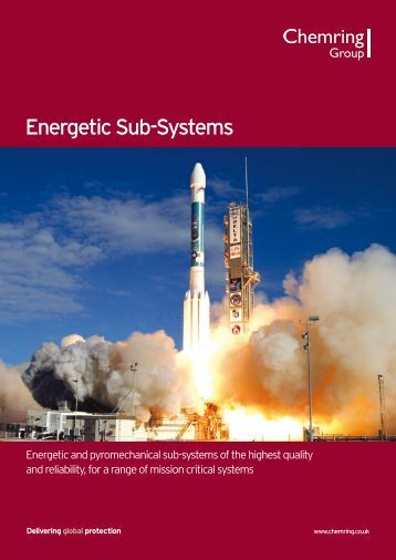 Energetic Sub-Systems sector brochure - Chemring Group PLC