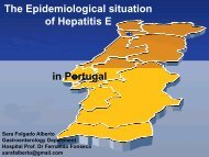 The epidemiological situation of hepatitis E in Portugal