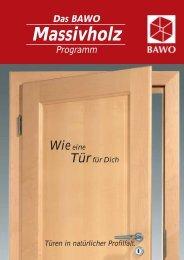 BAWO Massivholz - Hometrade