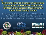 Monitoring Potential Changes in Macroalgal Communities on ... - fsbpa