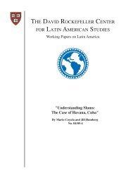 Understanding Slums: The Case of Havana, Cuba - David ...