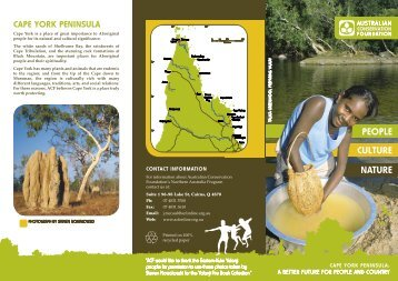 About Cape York Peninsula - Australian Conservation Foundation